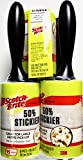 Scotch-Brite 3M Lint Roller 50% Stickier, 475 Sheets