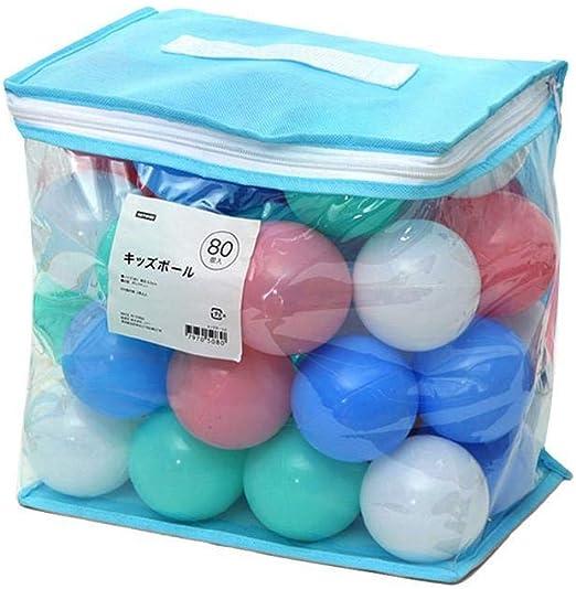 luminiu Waroomss Bolas de plástico Blando de Colores, Bolas ...