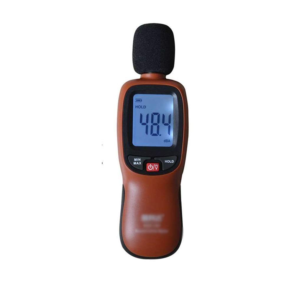Decibel Meter LCD Backlight Digital Noise Meter Decibel Sound Level Meter Environmental Noise Tester High Precision Detector Sound Measurement