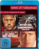 Ritter aus Leidenschaft/Der Patriot - Best of Hollywood/2 Movie Collector's Pack [Blu-ray]