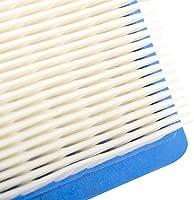 Paquete de 2 filtros de Beehive, recambio de cartucho del filtro de aire plano para Briggs & Stratton 491588 491588S 4915885 399959 JOHN DEERE PT15853 ...