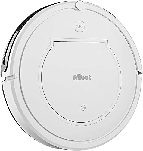 Aiibot T350 Robotic Vacuum Cleaner, Ultra-Slim Robot Vacuum Remote Control Cleaning Robot Cleaner 360 Smart Sensor Four Cleaning Modes Strong Suction for Pet Hair, Hard Floors, Carpets, Dust Quiet