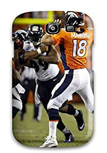 New Style HeatherAPhillips Hard Case Cover For Galaxy S3- Denverroncos