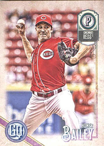2018 Topps Gypsy Queen #276 Homer Bailey Cincinnati Reds Baseball Card - GOTBASEBALLCARDS