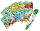 Leapfrog Tag Reading System Set + 12 Books Short and Long Vowels - Learn to Read