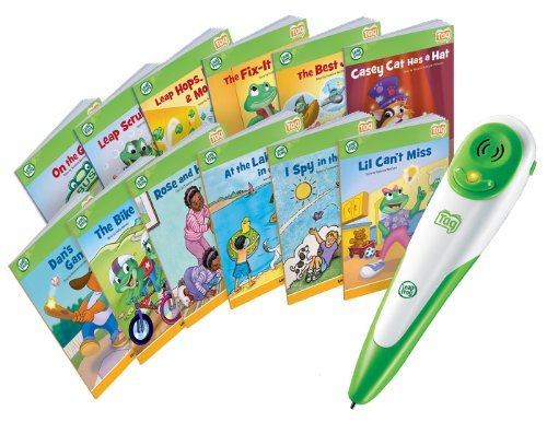 Leapfrog Tag Reading System Set + 12 Books Short and Long Vowels - Learn to Read by Tag Reading System (Image #4)