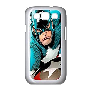 Samsung Galaxy S3 9300 Cell Phone Case White_Captain America in Comics Lvxvz