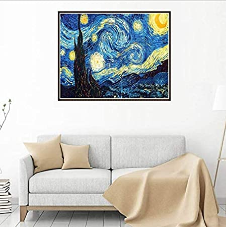 DIY 5D Diamond Painting Kits DIY Diamond Painting for Adults Kids Art Accessories with Full Drill for Home Wall Decor 12 x 16in, Colorful Elephant