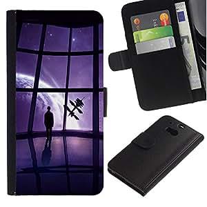 All Phone Most Case / Oferta Especial Cáscara Funda de cuero Monedero Cubierta de proteccion Caso / Wallet Case for HTC One M8 // Mass Game View