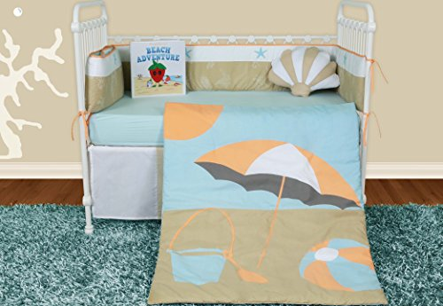 51lKE75ff1L The Best Kids Beach Bedding You Can Buy