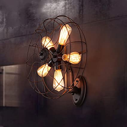 Hines Loft Retro Industry 5-Lights Restaurante Hierro ...