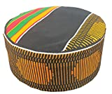 Decoraapparel Traditional African Hat Kente Pattern Dashiki Cap Kufi Kofi