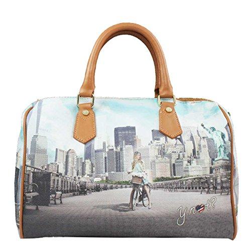 Borsa Y Not bauletto New York Big Apple 318