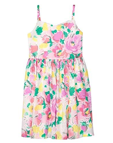 Gymboree Little Girls Floral Strappy Dress  Watercolor Floral  4
