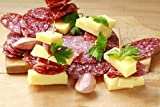 WISCONSIN'S BEST - Smoked Summer Sausage - ORIGINAL - Naturally Hickory Smoked - 12 oz - Slice and Eat!