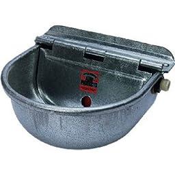 MILLER CO Galvanized Stock Waterer, 68.8 oz