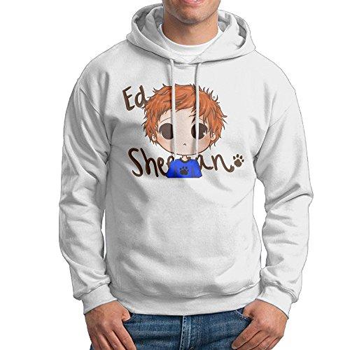 Lightweight 80's Juniors Men Ed Sheeran XX-Large Hoodie