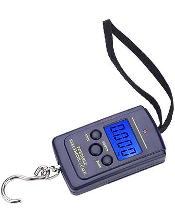 Escala de Pesca de Dígitos, Portátil LCD ElectróNico Equilibrio Escala Digital Colgante Pesca Equipaje Peso