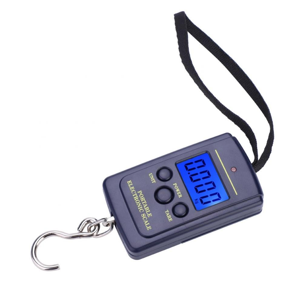 Weiheng Digital Hanging Scale with Hook, Electric Luggage Scale with Backlight