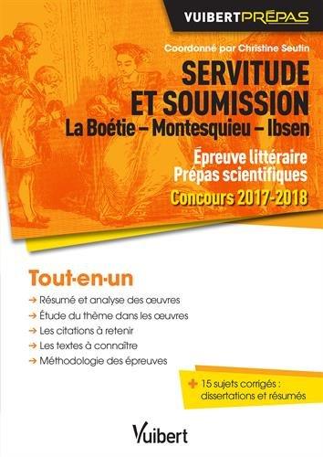 Amazon In Buy Servitude Et Soumission La Boetie Montesquieu