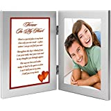"""Forever In My Heart"" Romantic Gift for Wife, Husband, Girlfriend, or Boyfriend, Birthday, Valentine's Day or Anniversary - Add Photo"