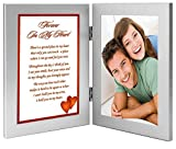 "Best Poetry Gifts Gift For A Boyfriends - ""Forever In My Heart"" Romantic Gift for Wife Review"