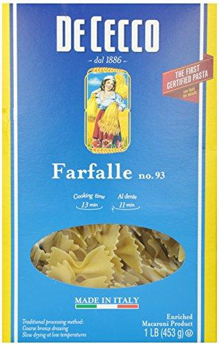 DeCecco Farfalle #93, 16 oz