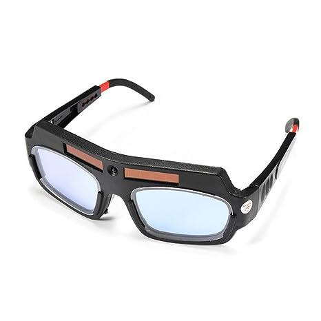 Funciona con energía solar soldadura gafas, starall soldadura para soldadores gafas de seguridad Protección de