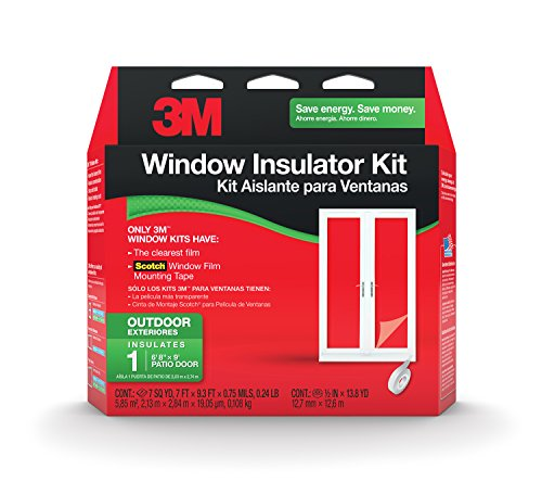 3M Outdoor Patio Door Insulator Kit