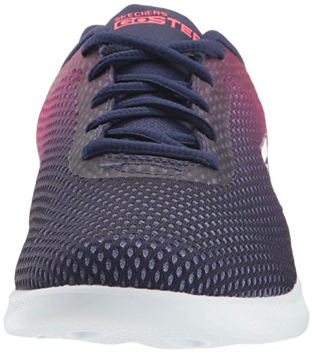 Femme Lite Skechers Go Step Bleu Navy Pink Interstelllar Baskets vnxnB
