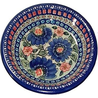 Boleslawiec Stoneware - Polish Pottery Soup or Pasta Plate -  Eva's Collection  Patricia