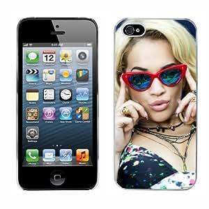 Rita Ora cas adapte iphone 5 couverture coque rigide de protection (2) case pour la apple i phone