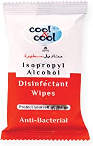 Cool & Cool Disinfectant Wipes, 10 Units