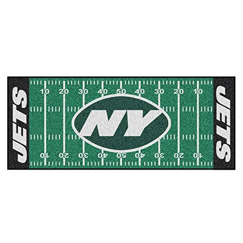 - FANMATS NFL New York Jets Nylon Face Football Field Runner
