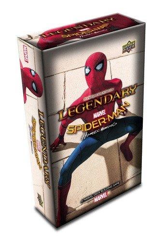 A Marvel Deck Building Game Upper Deck Spider-Man Homecoming Expansion Upper Deck Company 87949