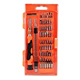 NIUTOP 58 in 1 with 54 Bit Magnetic Driver Kit, Precision Screwdriver Set Cell Phone, Tablet, PC, Macbook, Electronics Repair Tool Kit