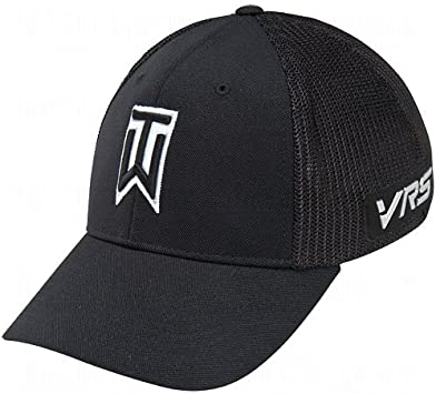 Nike Tiger Woods Tour Gorra de Malla (- 638294-010, Negro/Blanco ...