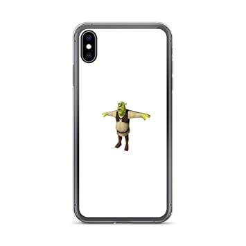 NO BRAND Compatible for iPhone XS MAX Pure Clear Case Cover ...