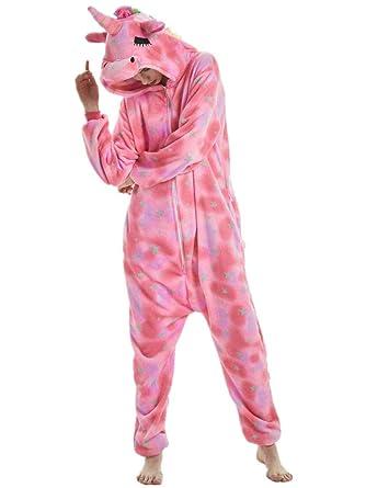 8ae9e902c1ee Amazon.com  qqonsie Adult Onesie for Women Halloween Costumes Men ...