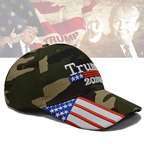 (1 Pcs Donald Trump 2020 Vote Anti Hat Cap,MAGA Trump Visor Merchandise Baseball Hat,Keep American Great - President Trump Hat Fancy Dress re-Elect Mother's Day)