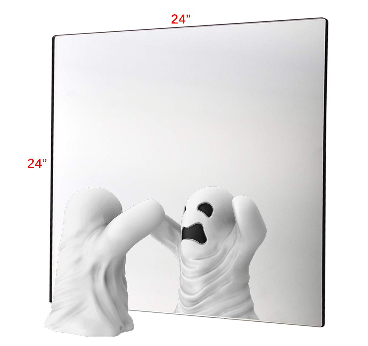 Marketing Holders 24'' w x 24'' h Acrylic Mirror Sheet Great for Classroom Camping Fun House Pack of 1