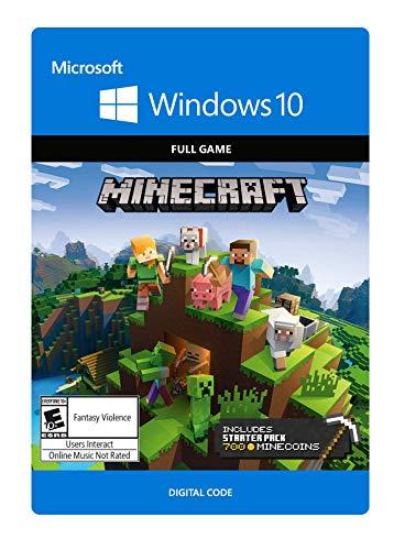 Minecraft Windows 10 Starter Collection - Windows 10 [Digital Code] (For Minecraft The Computer)