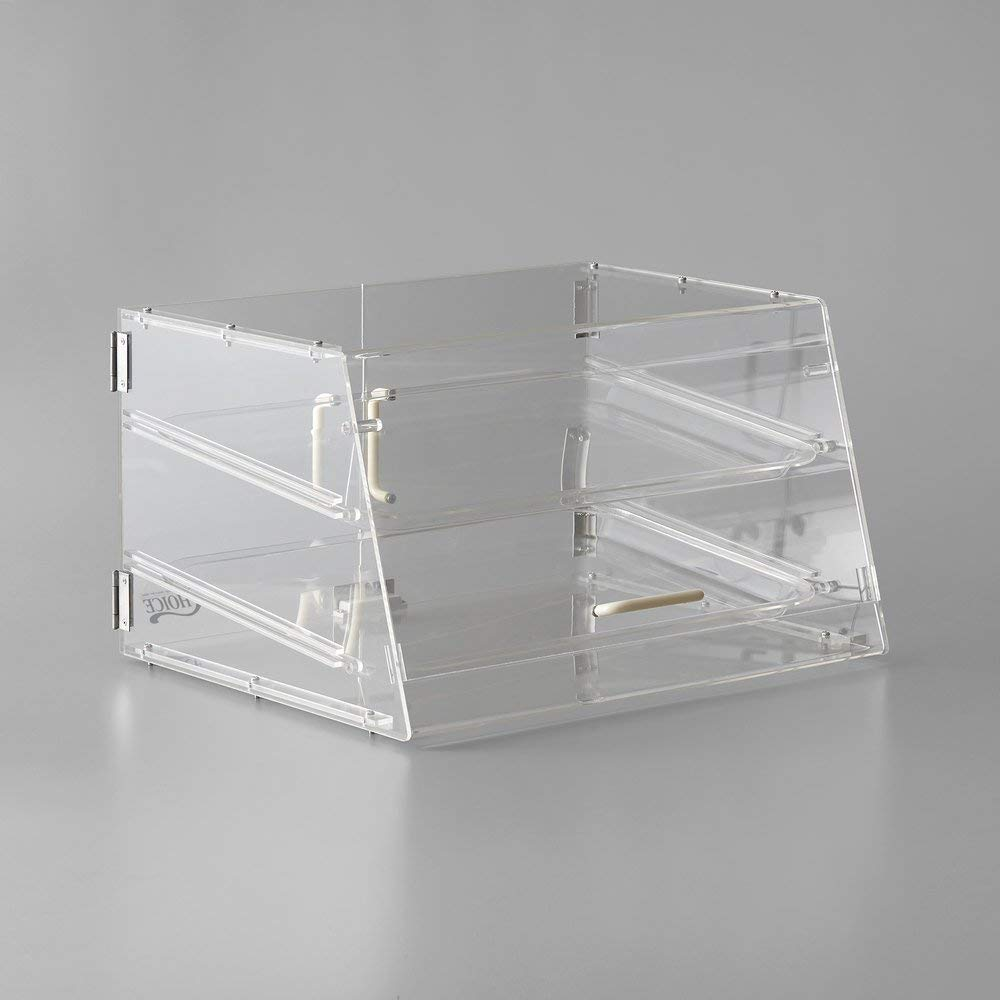 TableTop King 2 Tray Bakery Display Case with Front and Rear Doors - 21'' x 17'' x 12'' by TableTop King