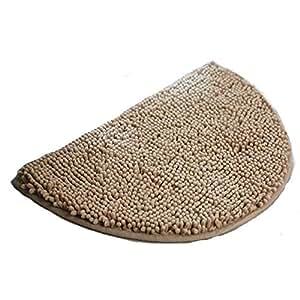 Amazon Com Ustide Shag Area Rug Half Round Rug Non Slip