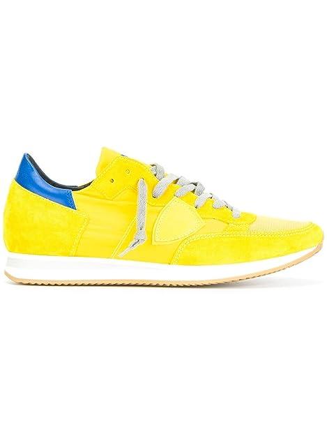 be8760c1e8 Philippe Model Sneakers Uomo Trluwx32 Camoscio Giallo: Amazon.it ...