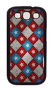 Samsung S3 Case,VUTTOO Cover With Photo: Memorial Day For Samsung Galaxy S3 I9300 - PC Black Hard Case
