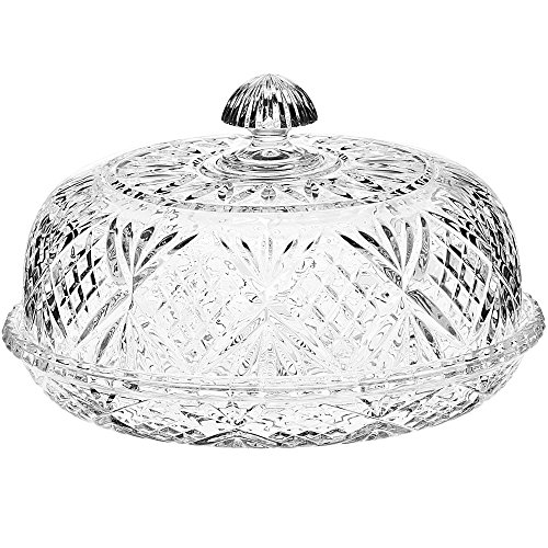 Dublin Collection Crystal Covered Pie Dome