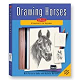 img - for Drawing Horses Kit: A Complete Drawing Kit for Beginners (Walter Foster Drawing Kits) by Patricia Getha (2008-02-25) book / textbook / text book
