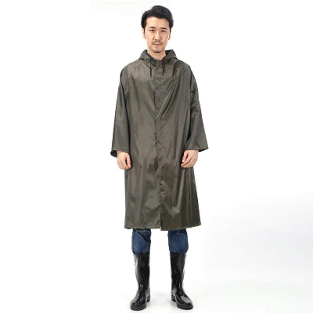 Raincoat, Waterproof Hooded Unisex, Windbreaker Waterproof Poncho Oxford Cloth Reflective Hiking Cycling,Outdoor Activities