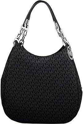 MICHAEL Michael Kors Fulton Large Leather Shoulder Bag